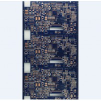 4 layers blue pcb with OSP surface