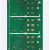 4 layers pcb with big ENIG pads