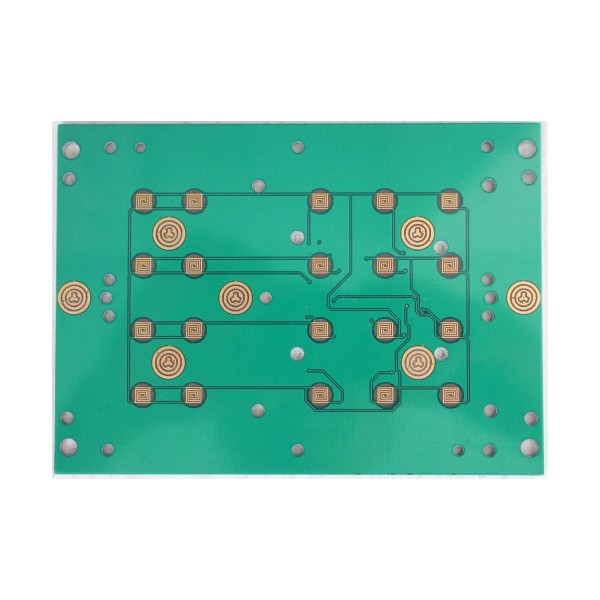 6 layers blind via pcb with blind slot and countersunk slot