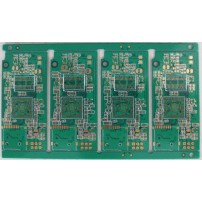 4 layers impedance PCB with 0.30MM BGA