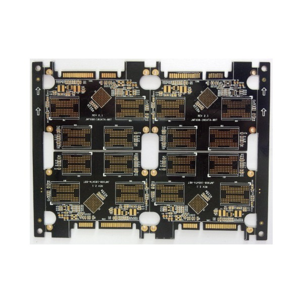 4 layers pcb with 5 BGA