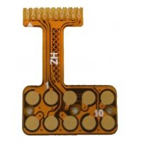 2 layers flexible PCB with stiffener